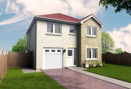 Thumbnail Detached house for sale in Plot 25, Laurel Bank, Station Road, Springfield, Fife
