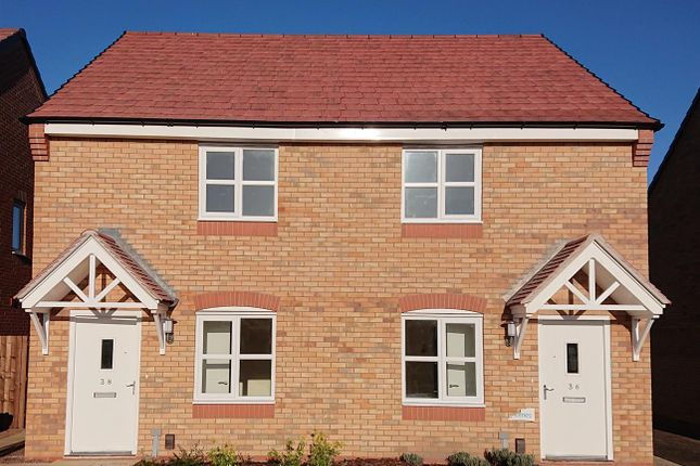 Thumbnail Semi-detached house for sale in 36, Wilde Meadow, Shrewsbury