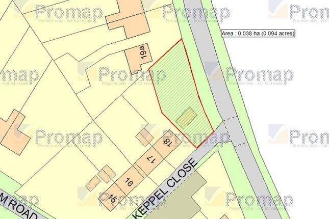 Thumbnail Land for sale in Wellingham Road, Litcham, King's Lynn
