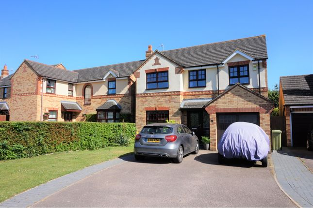 Thumbnail Detached house for sale in Beethoven Close, Milton Keynes