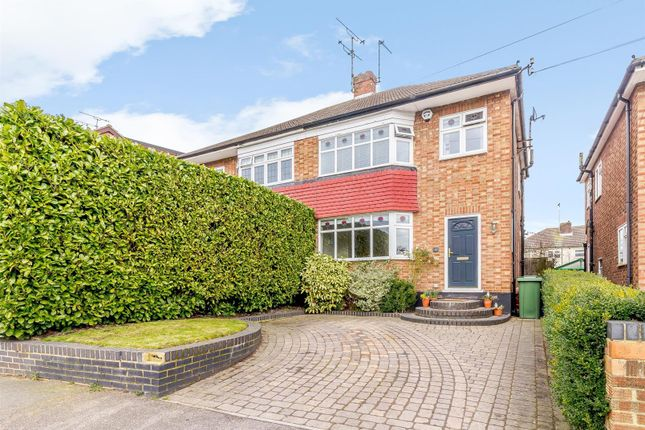 Thumbnail Semi-detached house for sale in The Meadows, Ingrave, Brentwood