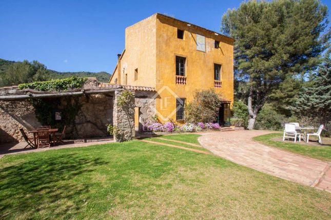 Thumbnail Villa for sale in Spain, Barcelona North Coast (Maresme), Alella, Mrs5928