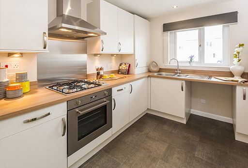 """Thumbnail Terraced house for sale in """"Aberwood"""" at Greystone Road, Alford"""