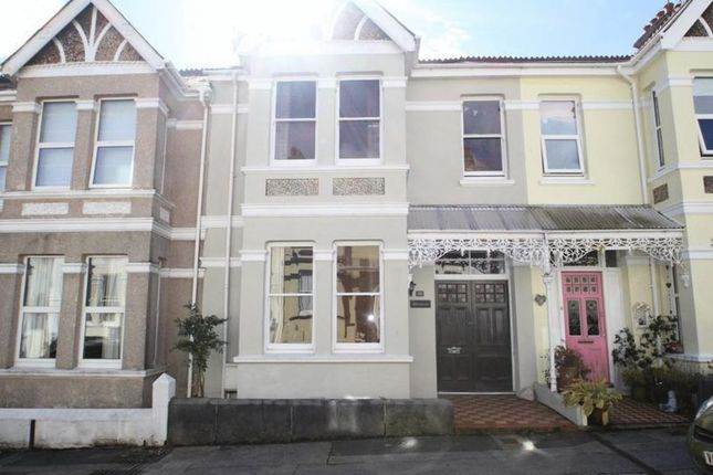 Thumbnail Terraced house to rent in Onslow Road, Plymouth