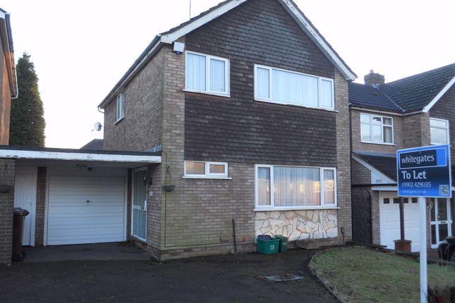 Thumbnail Semi-detached house to rent in Marlbrook Drive, Penn, Wolverhampton