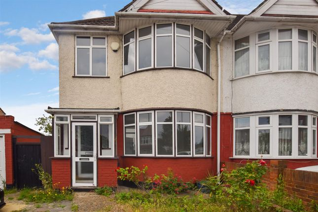 Thumbnail Semi-detached house to rent in Mount Pleasant, Wembley