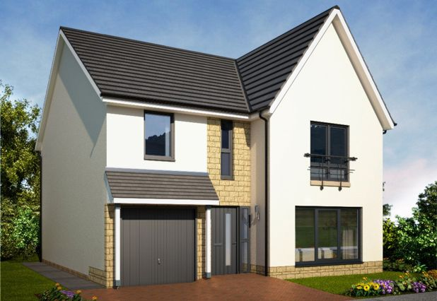 "Thumbnail Detached house for sale in ""Azure Garden Room II Hw"" at Duffus Heights, Elgin"