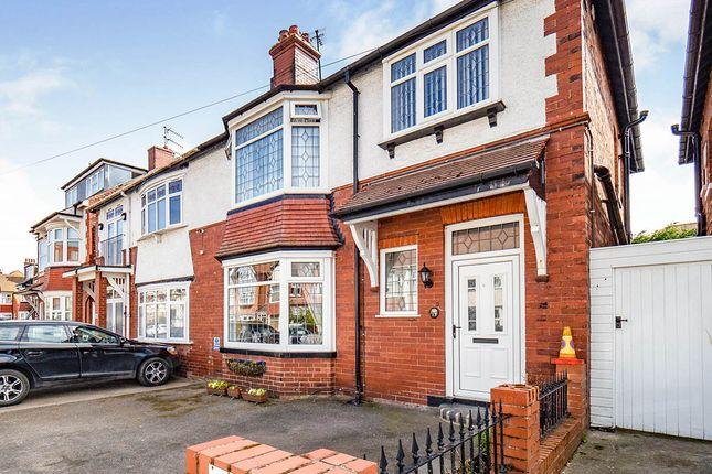 Thumbnail Semi-detached house for sale in Belgrave Road, Bridlington, East Yorkshire