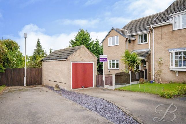 Thumbnail Detached house for sale in Greendale Close, Warsop, Mansfield