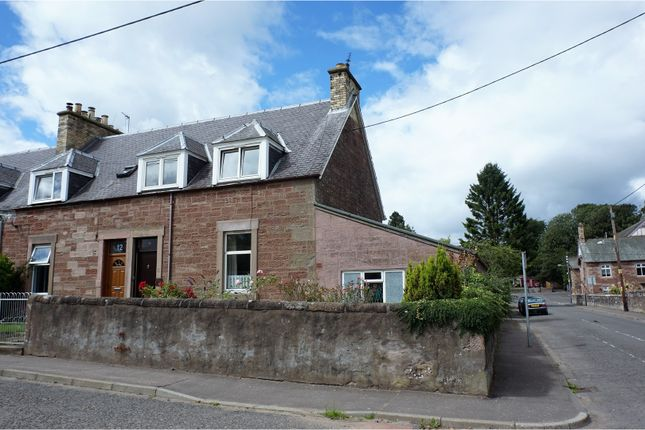 Thumbnail End terrace house for sale in St. Andrew Street, Alyth