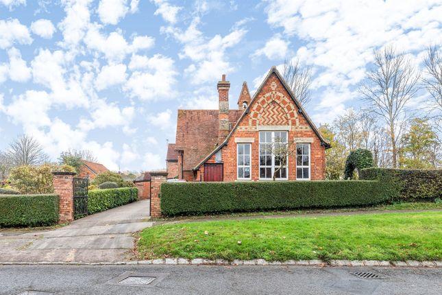 Thumbnail Detached house for sale in Newport Road, Woolstone, Milton Keynes