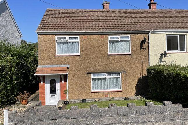 Thumbnail Semi-detached house for sale in Greenbank Road, West Cross, Swansea