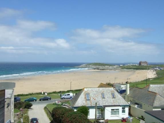 Thumbnail Flat for sale in Pentire Avenue, Newquay, Cornwall