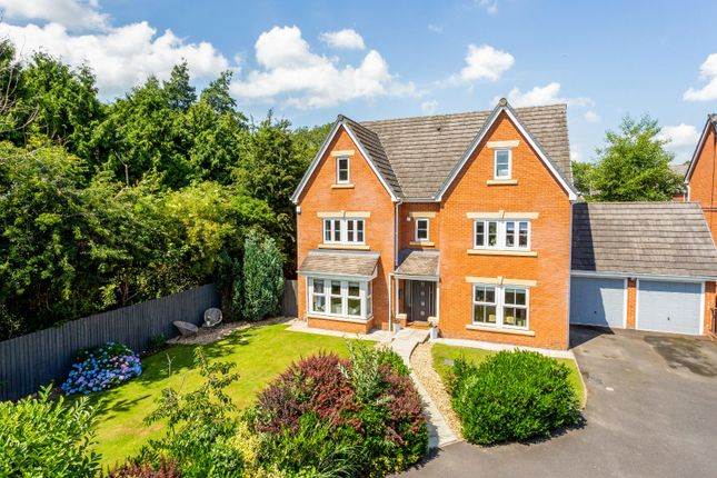 Thumbnail Detached house for sale in Upper Well Close, Oswestry, Shropshire