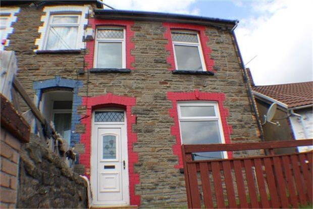 Thumbnail Terraced house to rent in Thomas Street, Clydach, Rct.