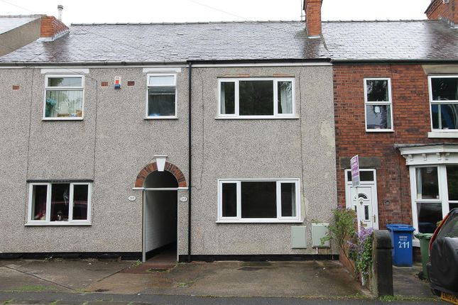 Thumbnail Terraced house for sale in Old Hall Road, Brampton, Chesterfield