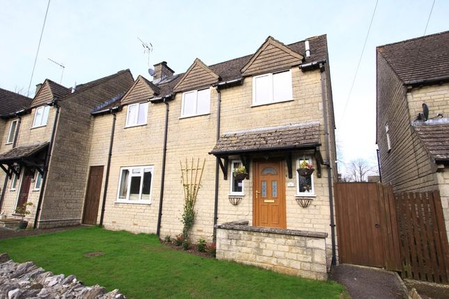 Thumbnail Semi-detached house for sale in Bearsfield, Bisley, Stroud