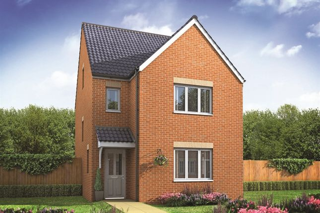 "Thumbnail Detached house for sale in ""The Lumley"" at Shelton New Road, Hanley, Stoke-On-Trent"