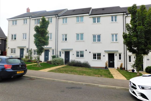 Terraced house for sale in Osprey Drive, Stowmarket