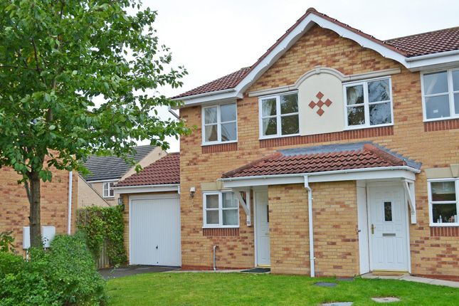 Thumbnail Semi-detached house to rent in Rainsborough Way, York