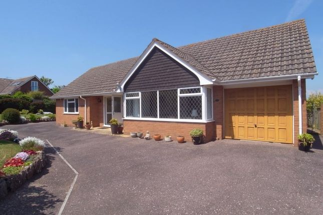 Thumbnail Detached bungalow for sale in Vision Hill Road, Budleigh Salterton