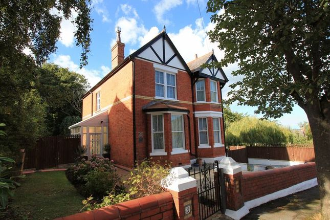 Thumbnail Detached house for sale in Queens Park, Colwyn Bay