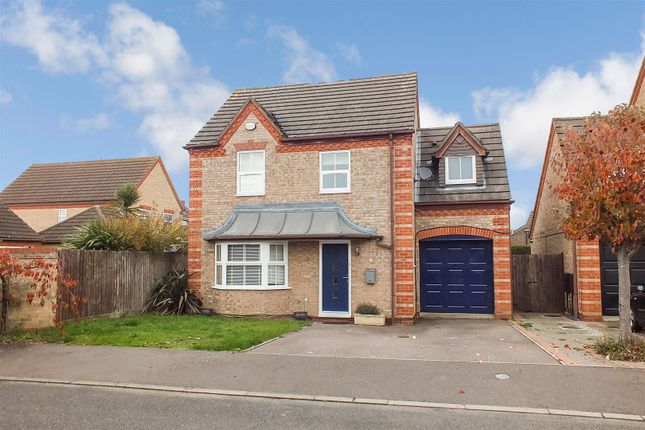 Thumbnail Detached house to rent in Orchard Close, Eaton Ford, St. Neots