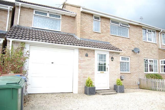 Thumbnail Semi-detached house for sale in Coleridge Close, Royal Wootton Bassett, Swindon