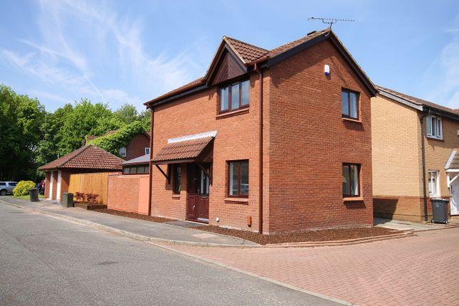 Thumbnail Detached house for sale in Wrexham Close, Callands, Warrington