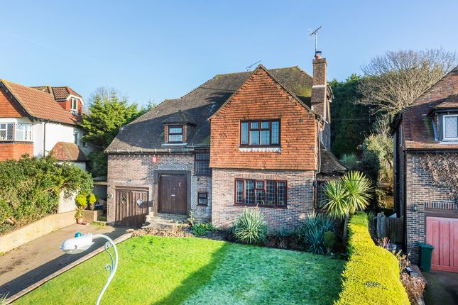Thumbnail Detached house for sale in Hill Drive, Hove