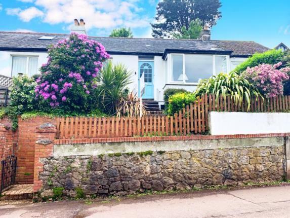 Thumbnail Bungalow for sale in Shaldon, Teignmouth, Devon