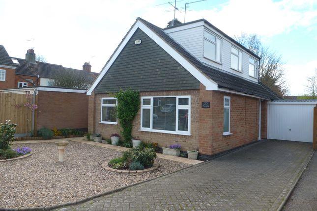 Thumbnail Detached bungalow for sale in Thornborough Close, Market Harborough