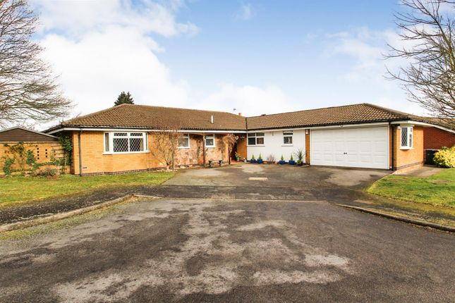 Thumbnail Bungalow for sale in Barley Way, Rothley, Leicester