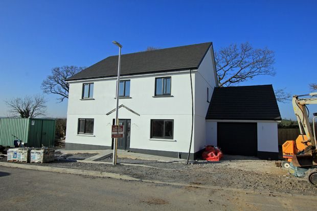 Thumbnail Detached house for sale in Maesglasnant, Cwmffrwd, Carmarthen, Carmarthenshire