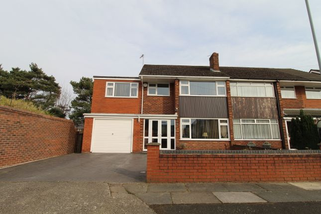 Thumbnail Semi-detached house for sale in Grinton Crescent, Huyton, Liverpool