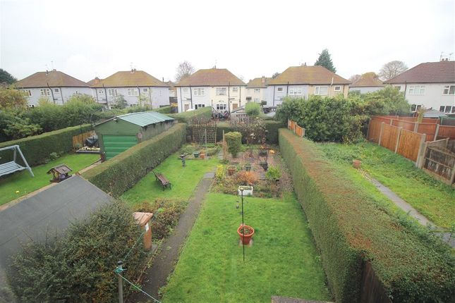 Rear Garden of Harvey Road, Allenton, Derby DE24