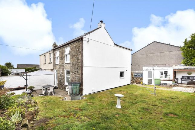 Thumbnail Semi-detached house for sale in Polgine Lane, Troon, Camborne, Cornwall