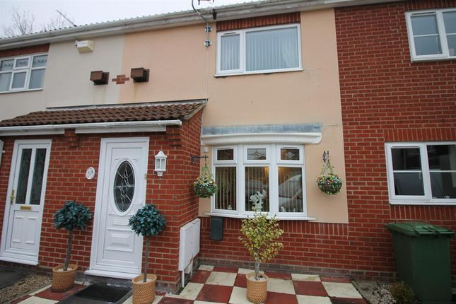 Thumbnail Terraced house for sale in Wright Close, Caister-On-Sea, Great Yarmouth
