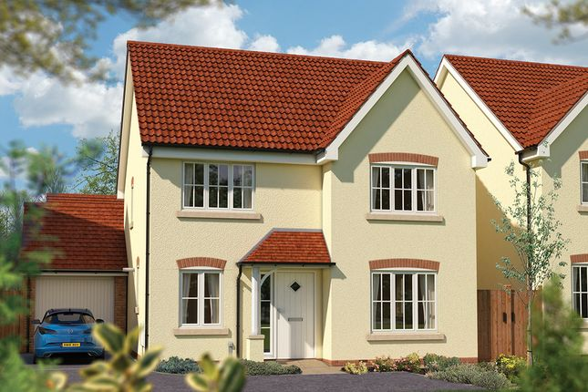 "Thumbnail Detached house for sale in ""The Juniper"" at Priory Fields, Wookey Hole Road, Wells, Somerset, Wells"