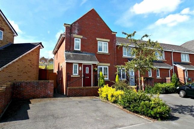 Thumbnail End terrace house for sale in Parc Gellifaelog, Tonypandy