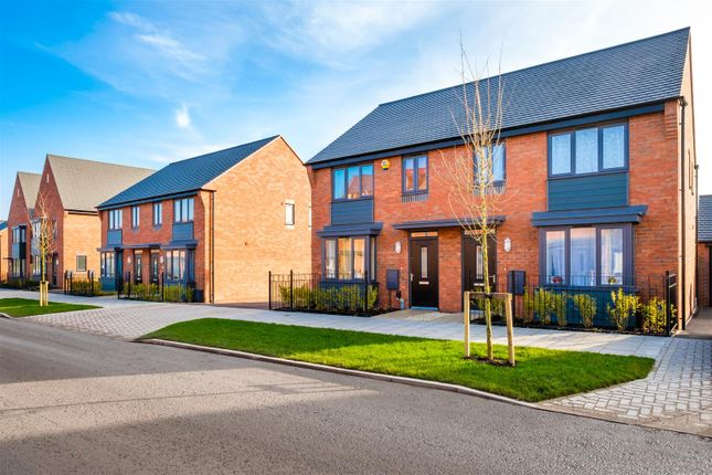 Thumbnail End terrace house for sale in Emerald Grove Development, Lawley Drive, Lawley, Telford