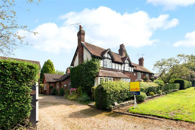 Thumbnail Semi-detached house for sale in Tabley Road, Knutsford, Cheshire