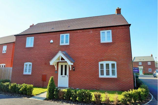 Thumbnail Detached house for sale in Hazel Close, Bugbrooke, Northampton