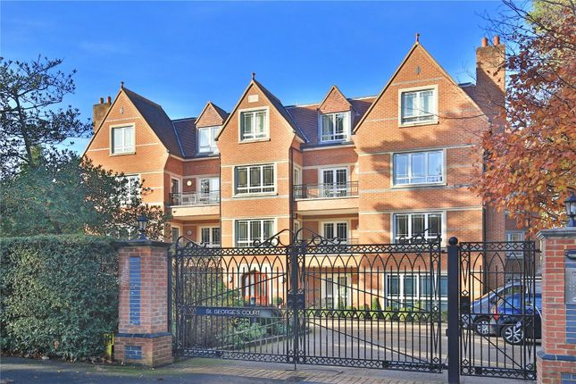 Thumbnail Flat to rent in St. George's Court, Cavendish Road, Weybridge, Surrey