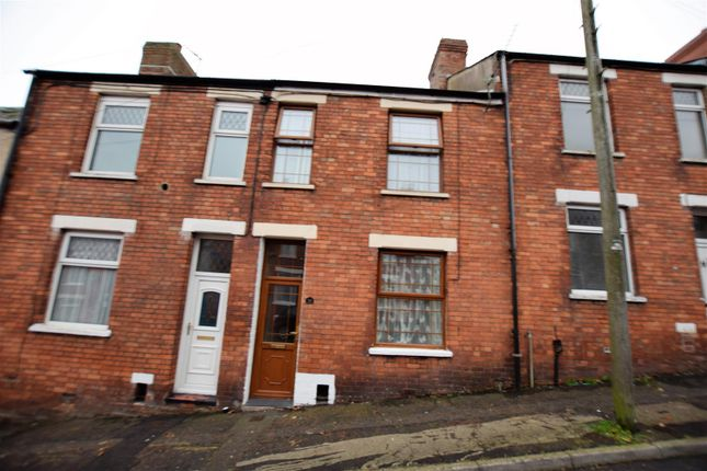 Thumbnail Terraced house for sale in Church Road, Barry