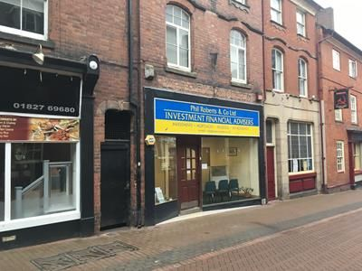 Thumbnail Retail premises for sale in Market Street, Tamworth, Staffs