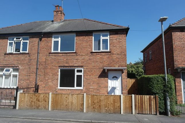 Semi-detached house to rent in Nelson Street, Retford