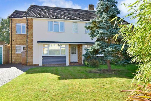 Thumbnail Semi-detached house for sale in Wealden Close, Hildenborough, Tonbridge, Kent