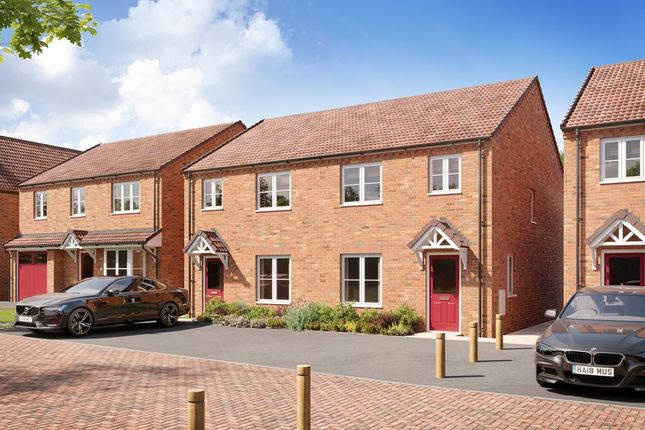 """3 bed semi-detached house for sale in """"The Gosford - Plot 10"""" at Melton Spinney Road, Melton Mowbray LE13"""