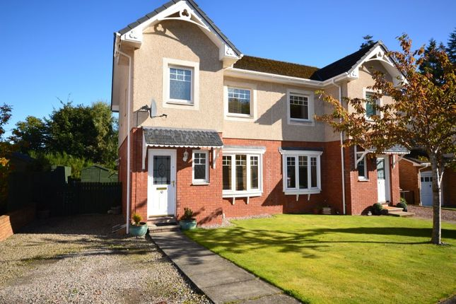Thumbnail Semi-detached house for sale in Moray Park Wynd, Culloden, Inverness
